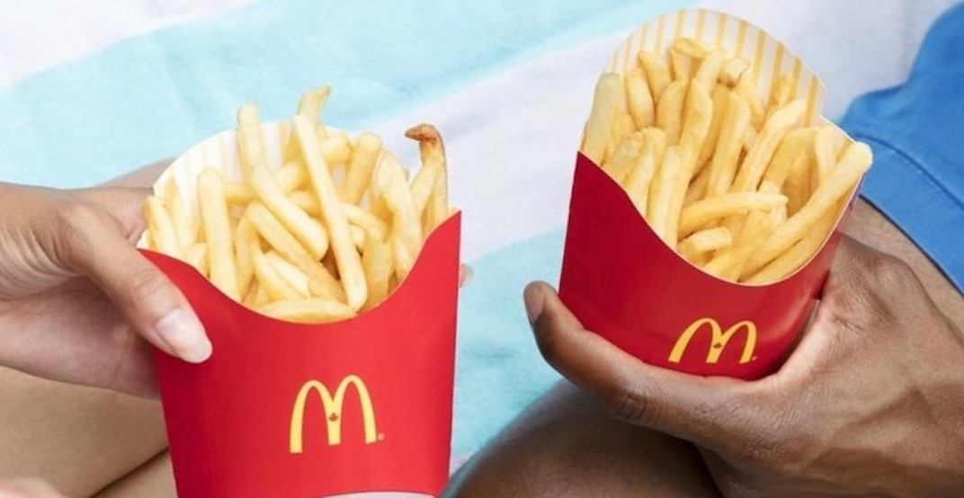 McDonald's is offering buy-one-get-one FREE fries February 20 to 25