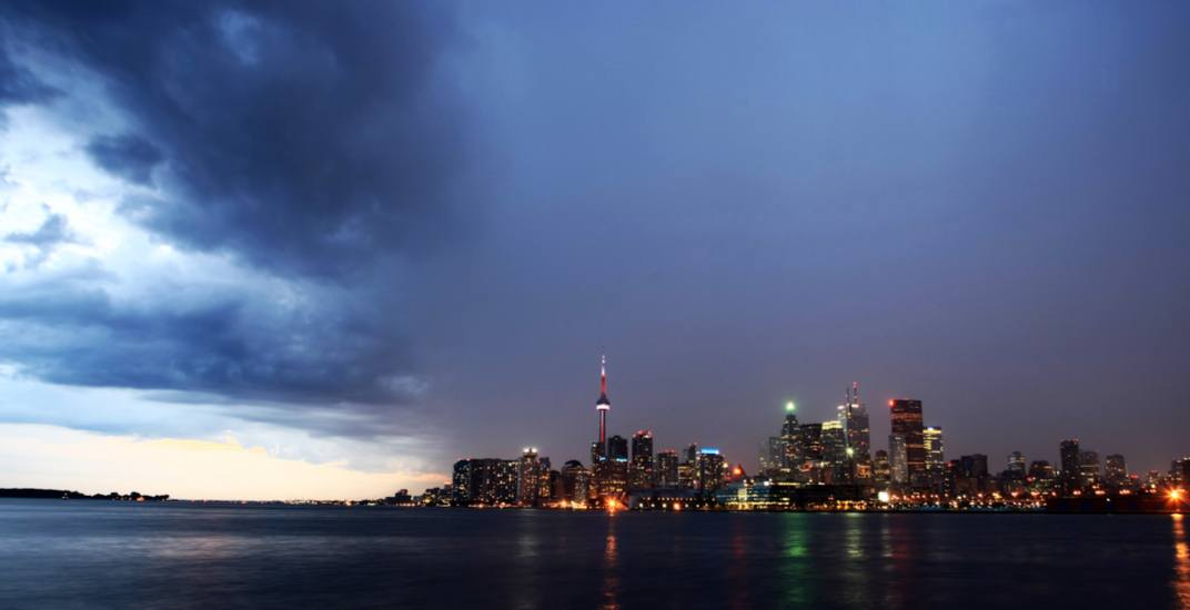 Risk of thunderstorms in the forecast for Toronto this weekend