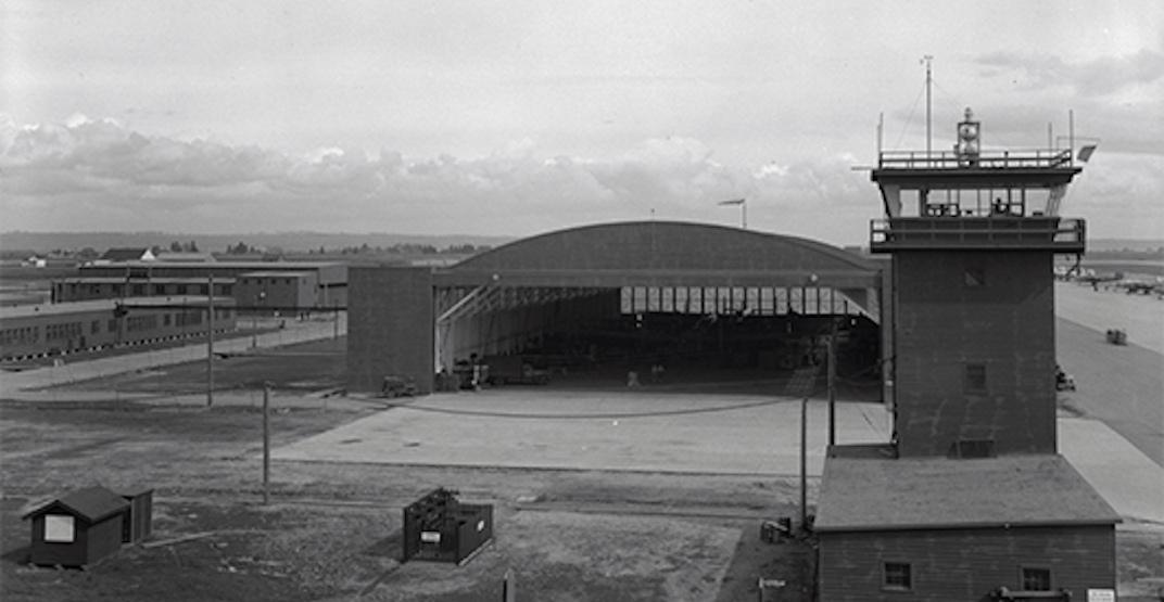 Heritage restoration completed on World War II plane hangar in Metro Vancouver