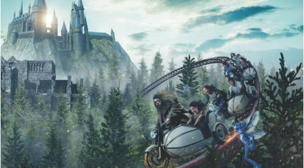 The Wizarding World of Harry Potter is FINALLY getting its first Hagrid-themed ride
