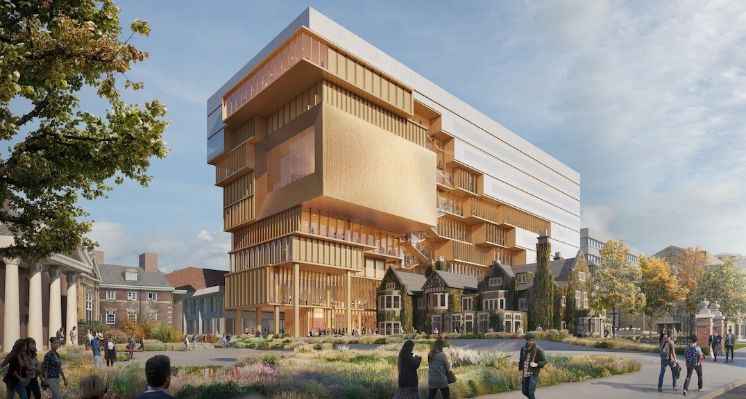 U of T's proposed new building boasts public spaces and skyline views (RENDERINGS)