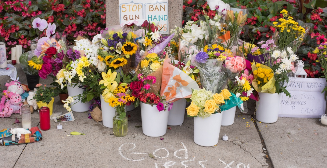Danforth shooting victims call for national ban on handguns and assault rifles