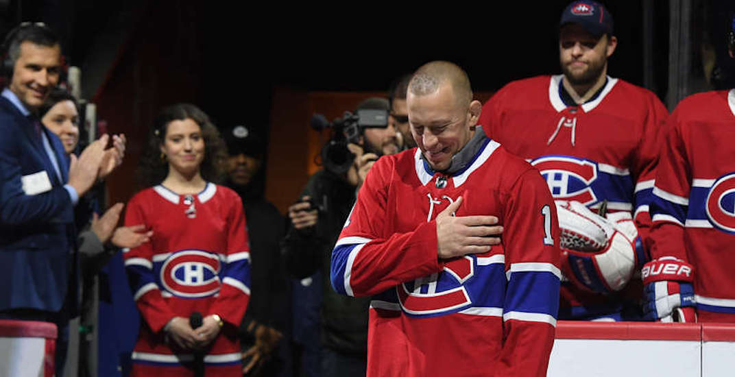 Georges St-Pierre greeted with hero's welcome in Montreal (VIDEO)