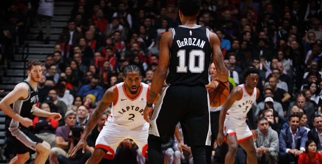 Kawhi steals ball from DeRozan before game-winning dunk for Raptors (VIDEO)