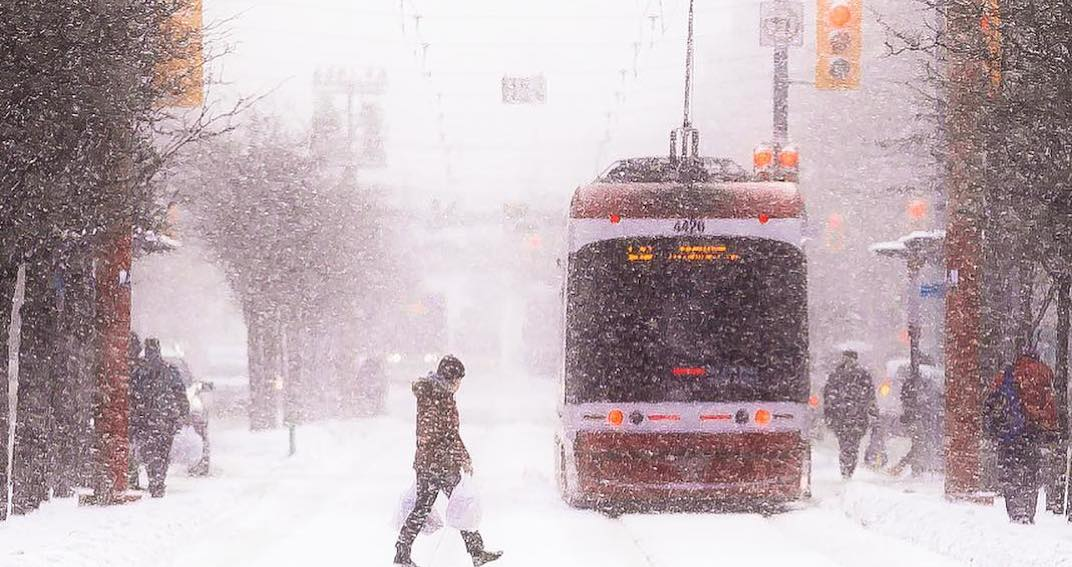 Toronto to be hit with up to 10 cm of snow on Wednesday
