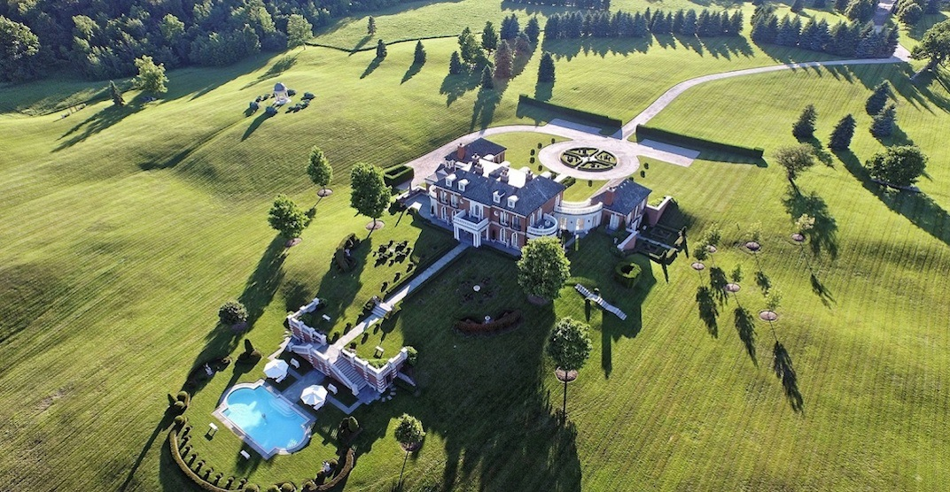 You can rent this incredible 200-acre estate near Toronto (PHOTOS)