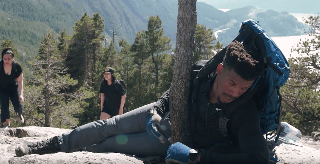 NBA's Jimmy Butler hilariously documents his struggles on a Canadian hike (VIDEO)