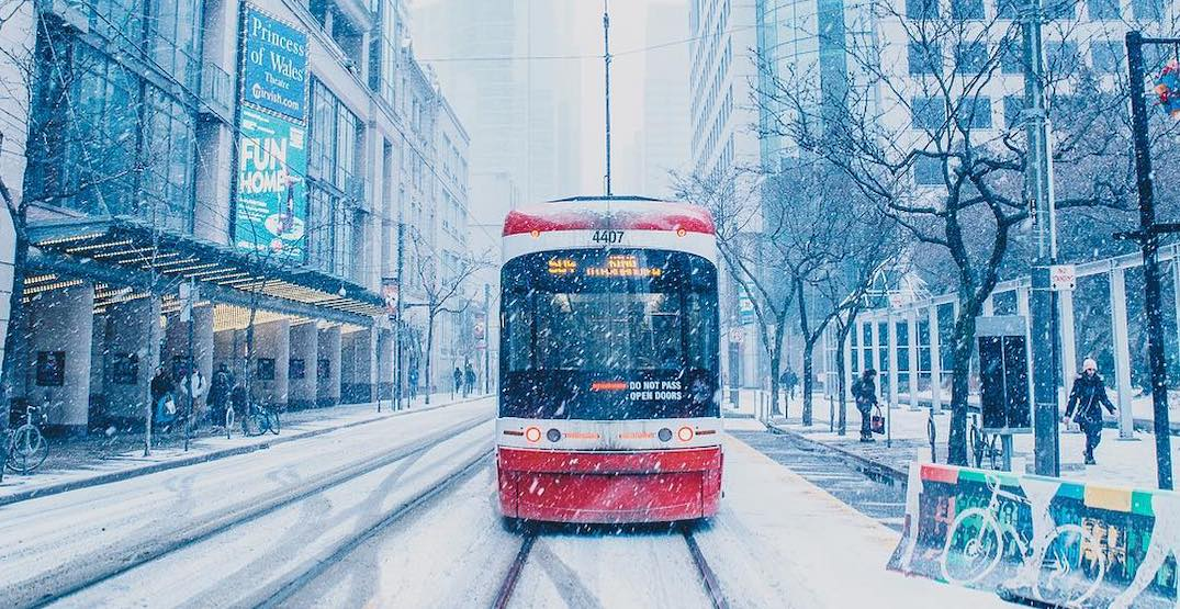 Toronto now expected to be hit with up to 15 cm of snow tomorrow