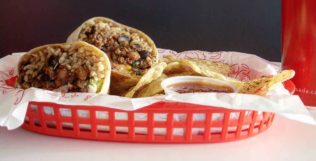 'Beyond Meat' burritos will be available across Canada tomorrow