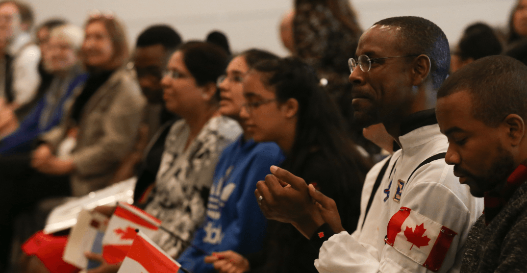 A very geeky citizenship ceremony is being held in Vancouver for 50 new Canadians