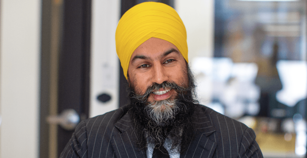 Jagmeet Singh gearing up to battle Trudeau after historic win