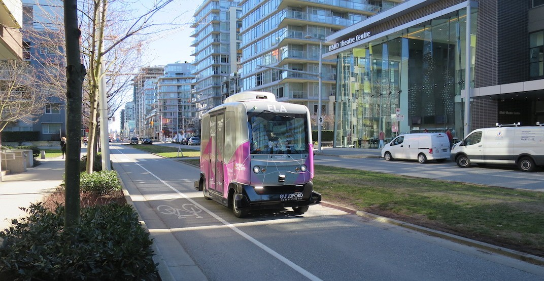 Vancouver driverless shuttle 1