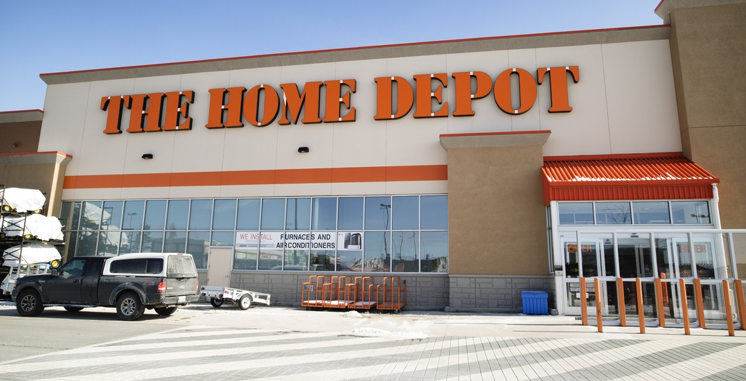 Home Depot is hiring 800 people in Alberta for the spring