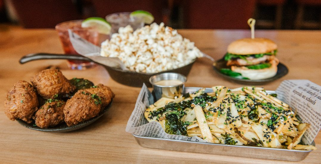 A new $3/4/5 happy hour menu is launching at The Charles Bar in Gastown