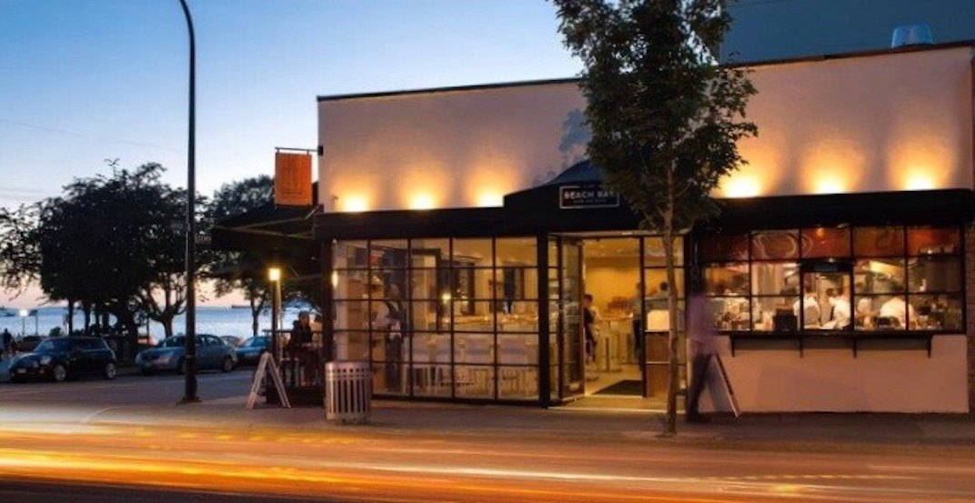 The Beach Bay Cafe has quietly closed its doors in English Bay