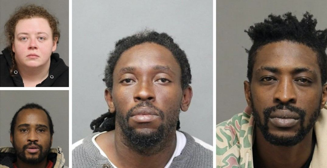 3 charged, one at large after teen escapes human traffickers in Toronto