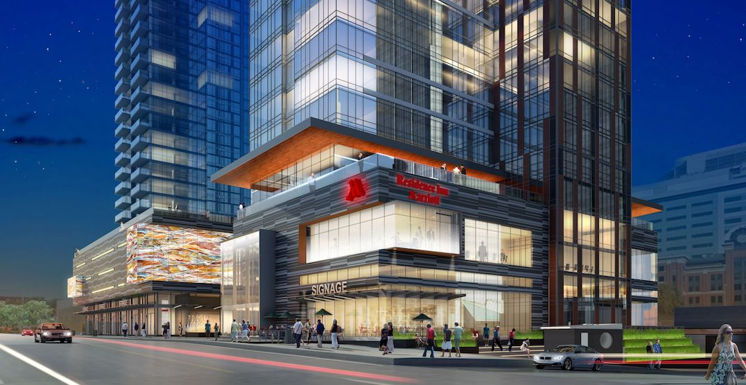 The world's largest Residence Inn by Marriott just opened in YYC (PHOTOS)