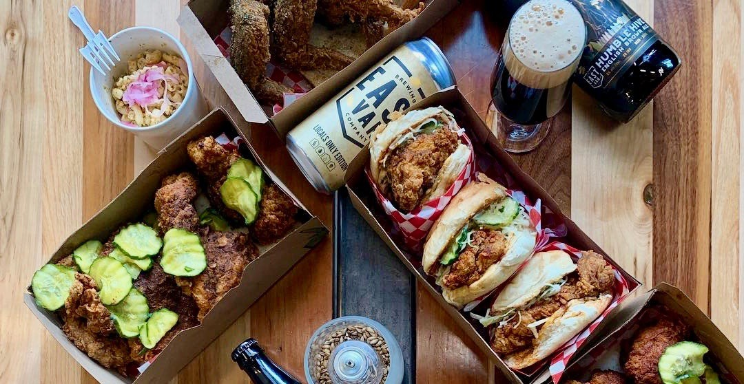 You can now bring DL Chicken's food into this Vancouver brewery