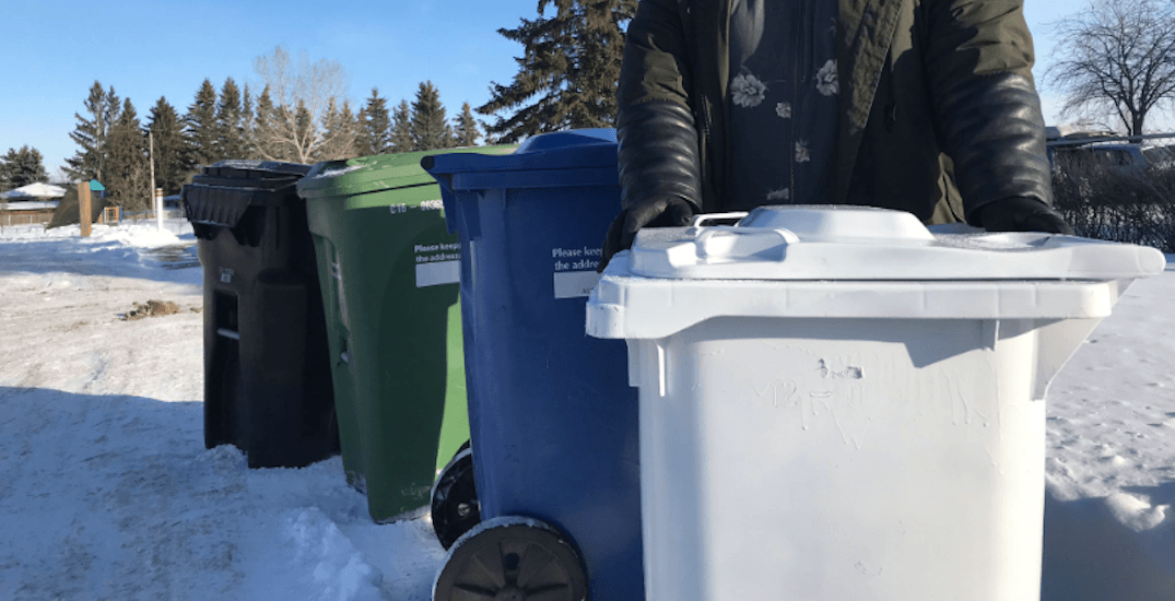 'White bin' idea prompts response from City of Calgary (VIDEO)