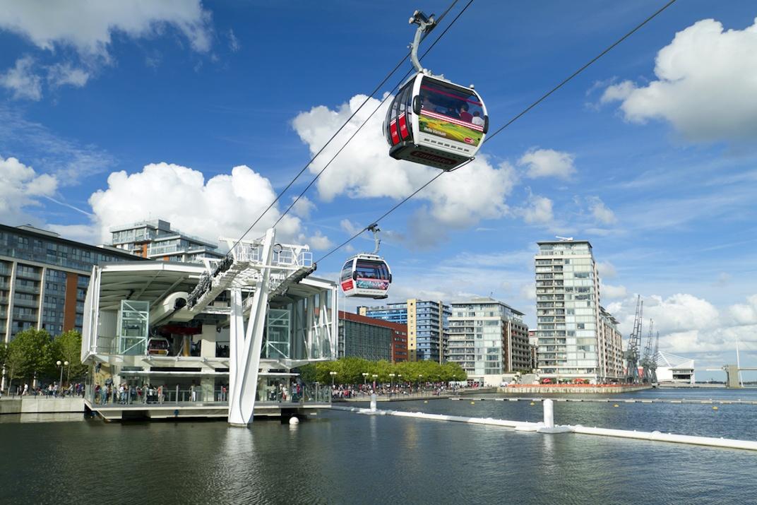 Emirates Air Line gondola