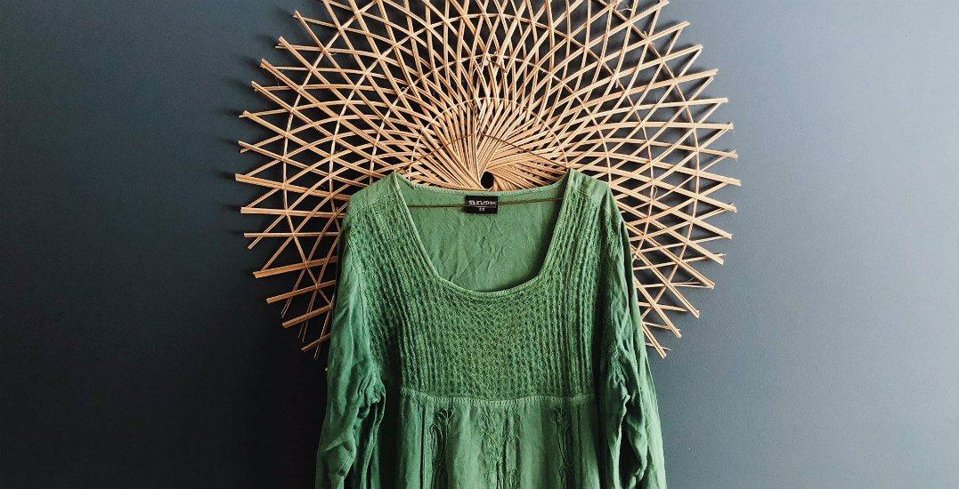 Green dressgenerous clothing