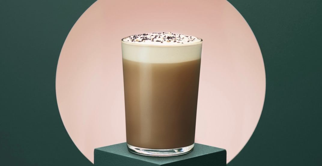 Starbucks releases new Black Sesame Tea Latte across Canada today