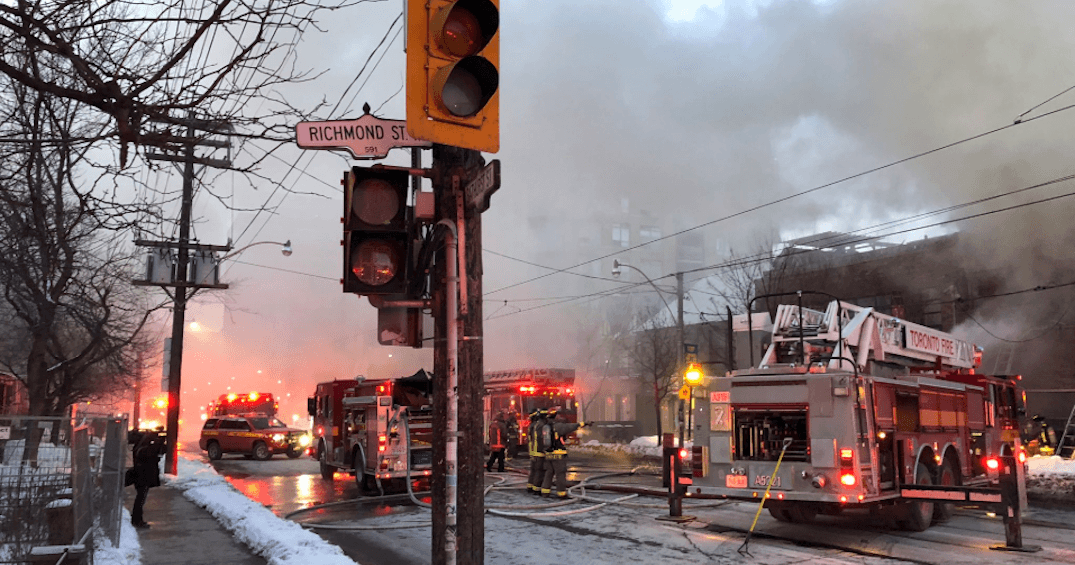 One confirmed dead following house fire at Bathurst and Richmond