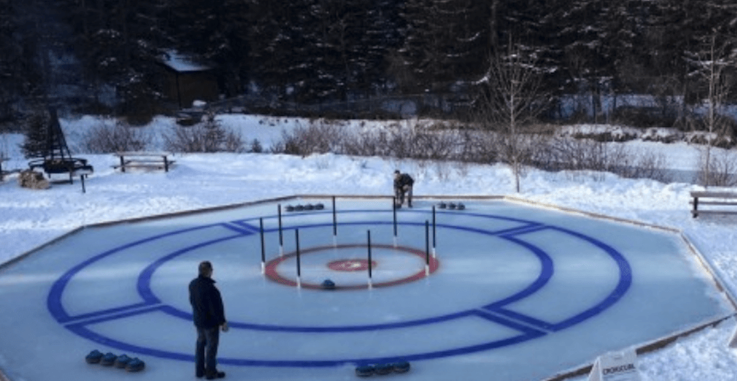 You can now play a game of 'Crokicurl' at this public park in Calgary