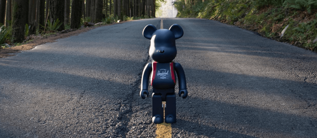 Herschel releases iconic BE@RBRICK bear as part of new collaboration (CONTEST)