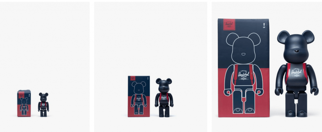 0990ee6695 Herschel releases iconic BE RBRICK bear as part of new collaboration ...