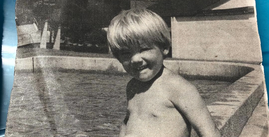 Ryan Reynolds shares throwback newspaper pic of him at Kits wading pool
