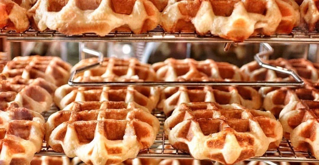 You can get Medina's legendary waffles delivered to you on March 25