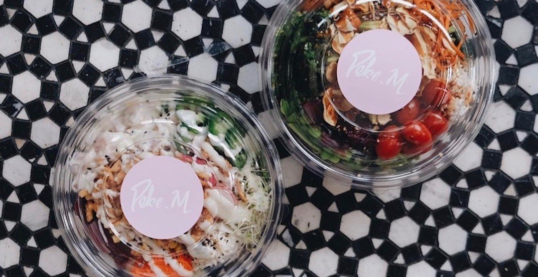 Get half-price poke bowls from new Vancouver spot 'Poke M' on March 7