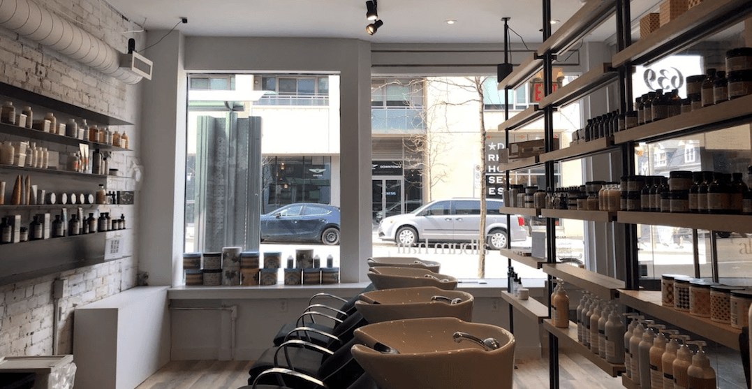 This Queen East hair salon is serving Japanese highballs and champagne