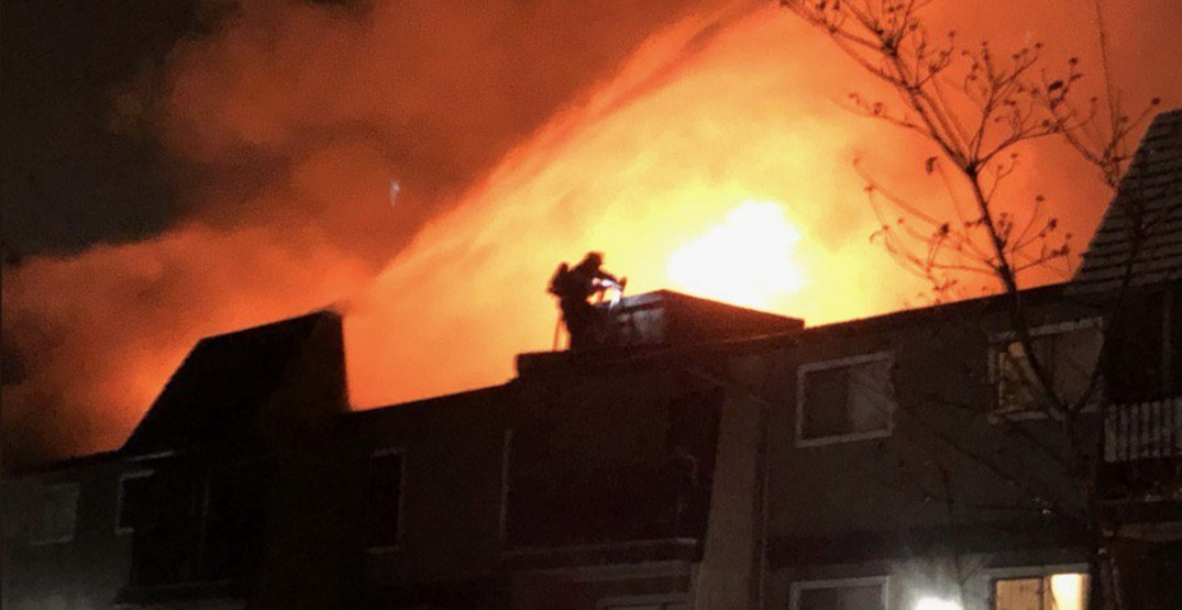 Woman killed in overnight Abbotsford apartment fire