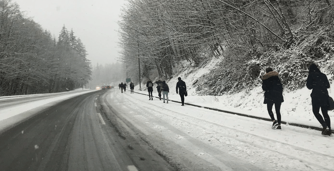 Students are ripping SFU for its confusing class cancellations this morning