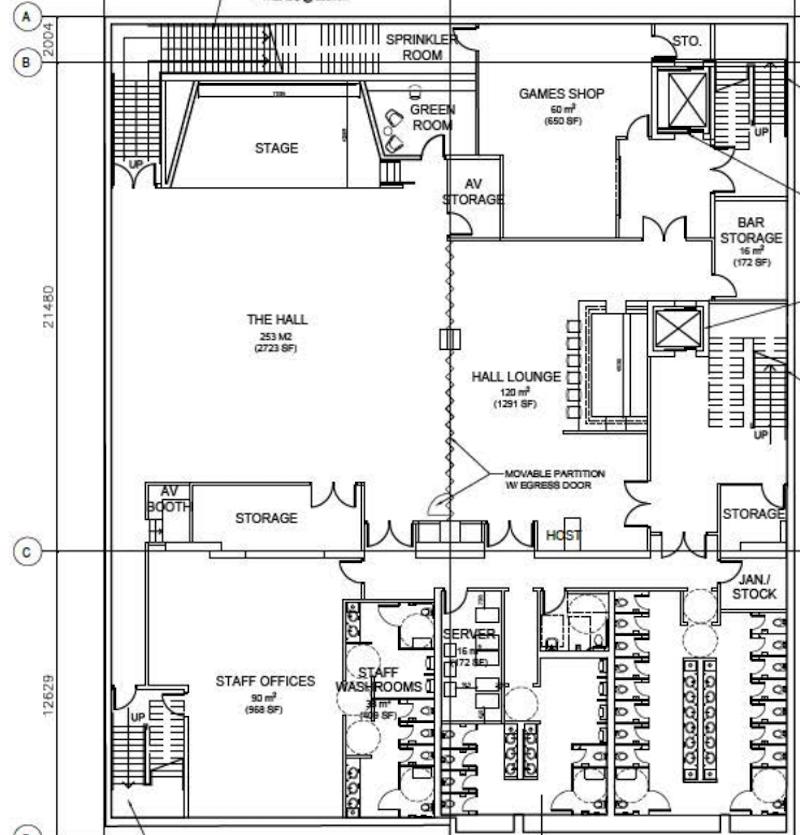 Cineplex Rec Room 855 Granville Street Vancouver