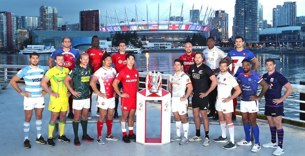 Here's when to watch Rugby Sevens in Vancouver this weekend (SCHEDULE)