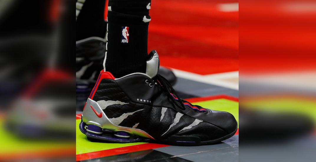 Vince carter raptors shoes