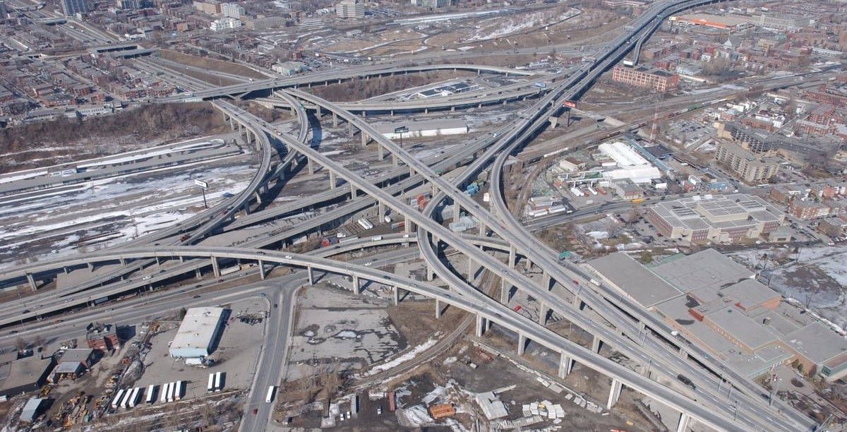 Check out the differences between the Turcot Interchange between 2004 and now (PHOTOS)