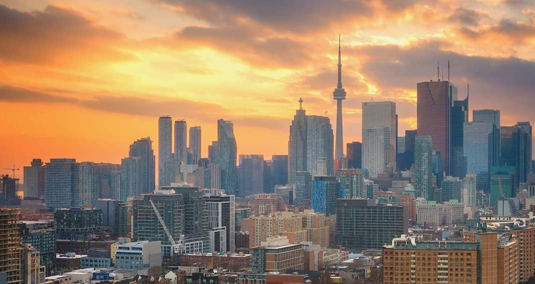 Temperatures in Toronto are expected to hit a high of 12°C tomorrow