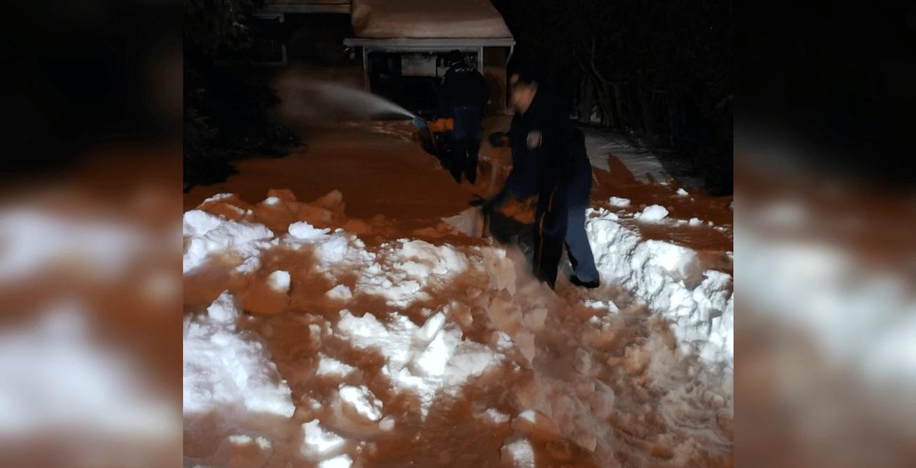 Police rescue elderly man snowed in for the entire winter in Ottawa