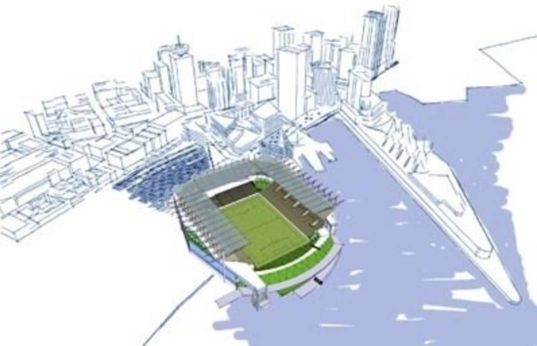 Vancouver Whitecaps Waterfront Stadium