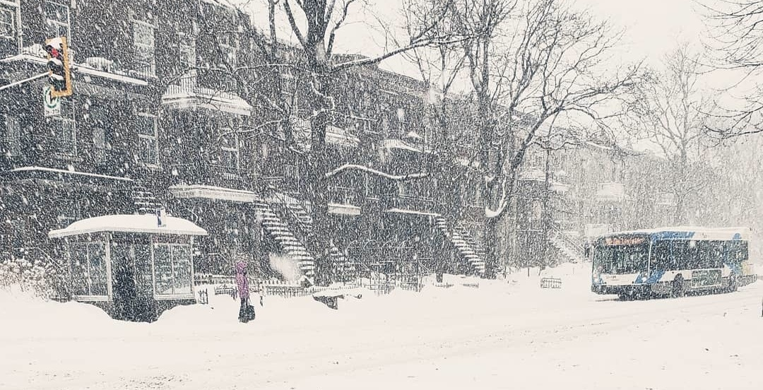 Yesterday was Montreal's snowiest March 10 in over a century (PHOTOS)