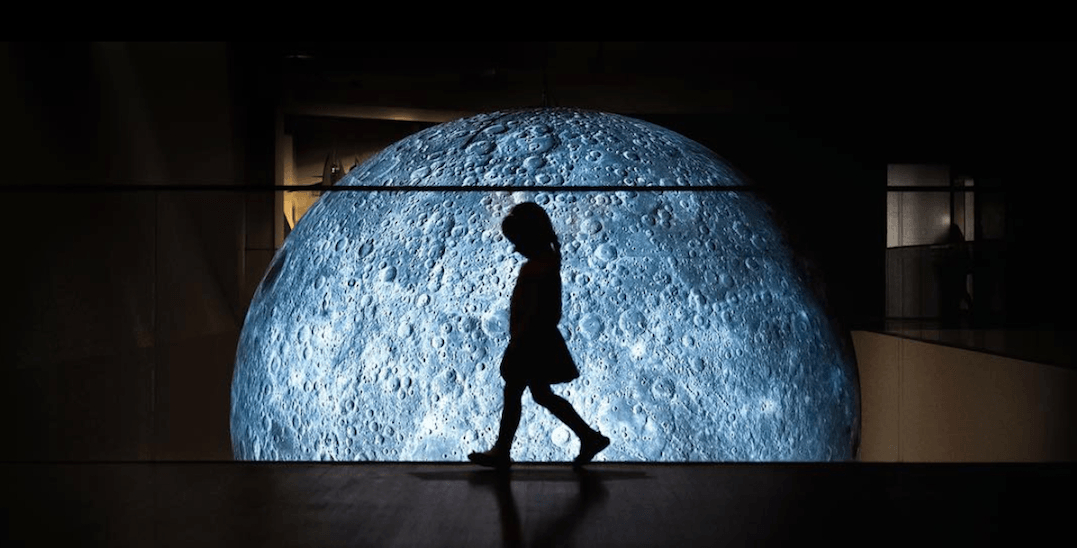 3e1f42c608 Massive moon sculpture unveiled in Toronto this weekend (PHOTOS ...