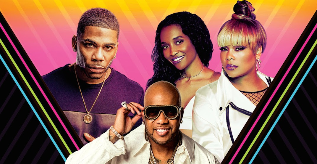 Nelly, TLC and Flo Rida are performing in Toronto this summer