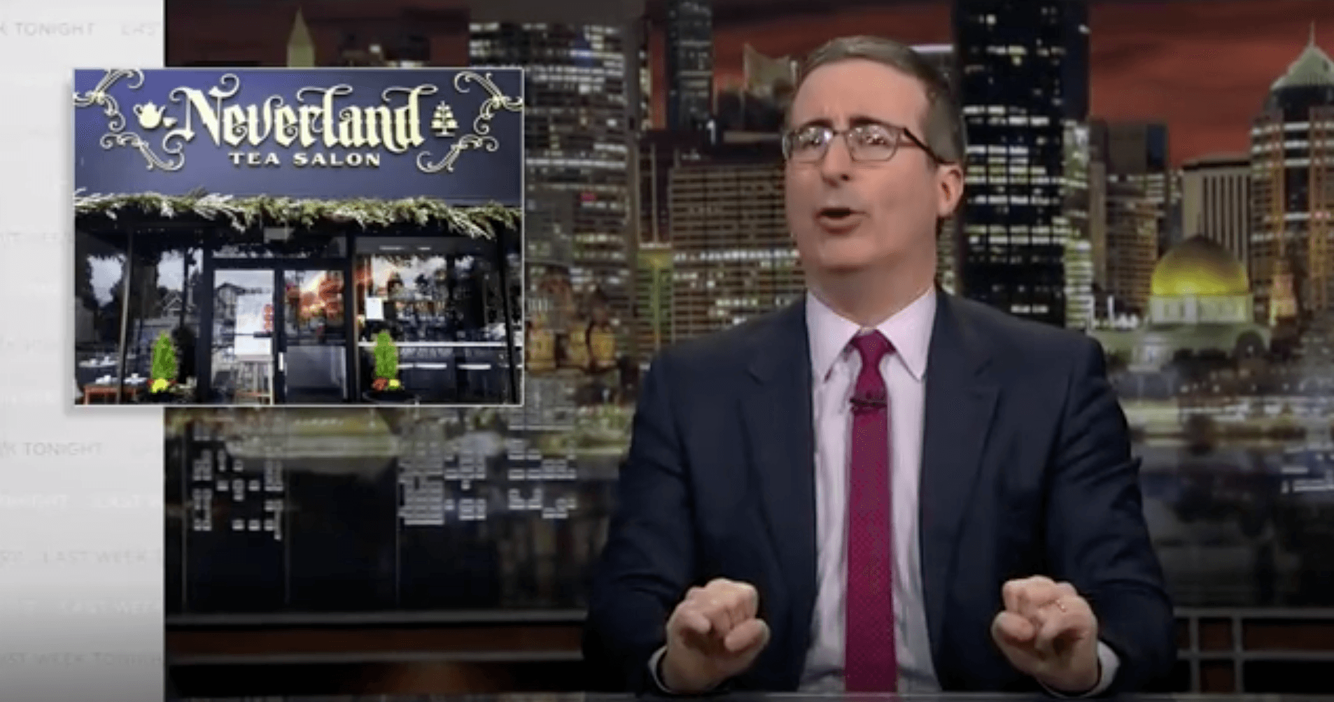Vancouver tea salon mentioned on Last Week Tonight with John Oliver
