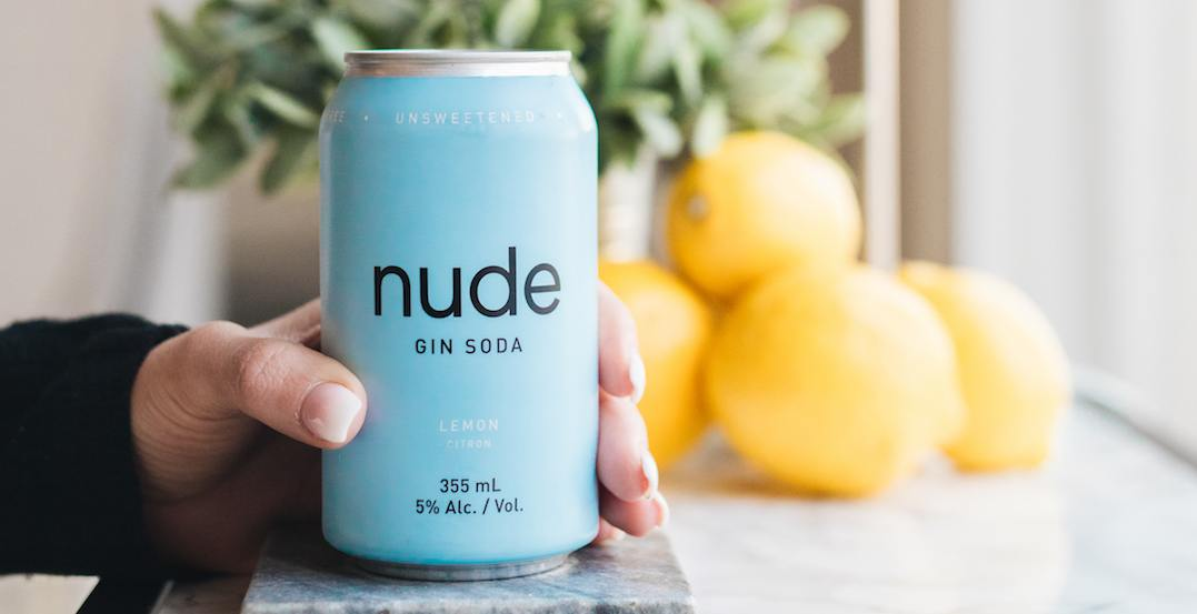 Nude just released a Gin Soda, and it's a serious game-changer