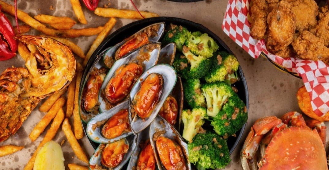 The Captain's Boil is offering All-You-Can-Eat mussels in Vancouver in April