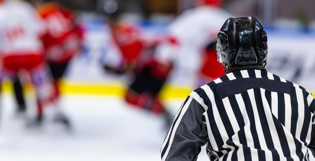 Charges laid after Alberta hockey player's family fights referees